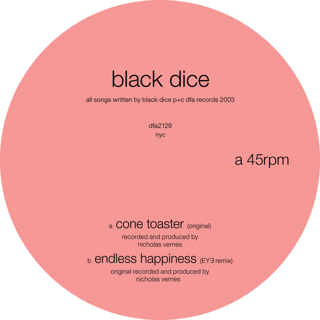 Black Dice - Cone Toaster 12""
