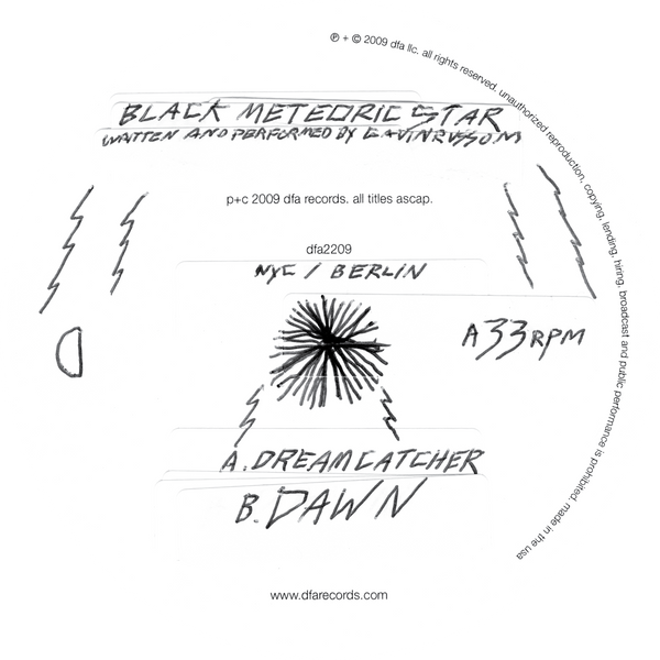 Black Meteoric Star - Dreamcatcher b/w Dawn 12""