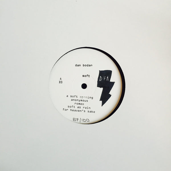 Dan Bodan - Soft (Limited Edition White Label LP)