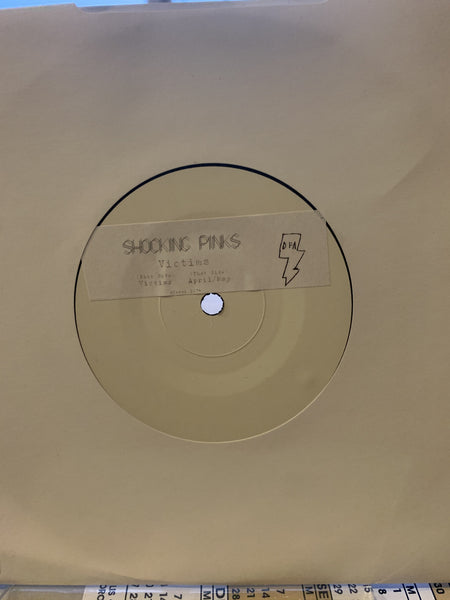 "Shocking Pinks - Victims (White Label 7"")"