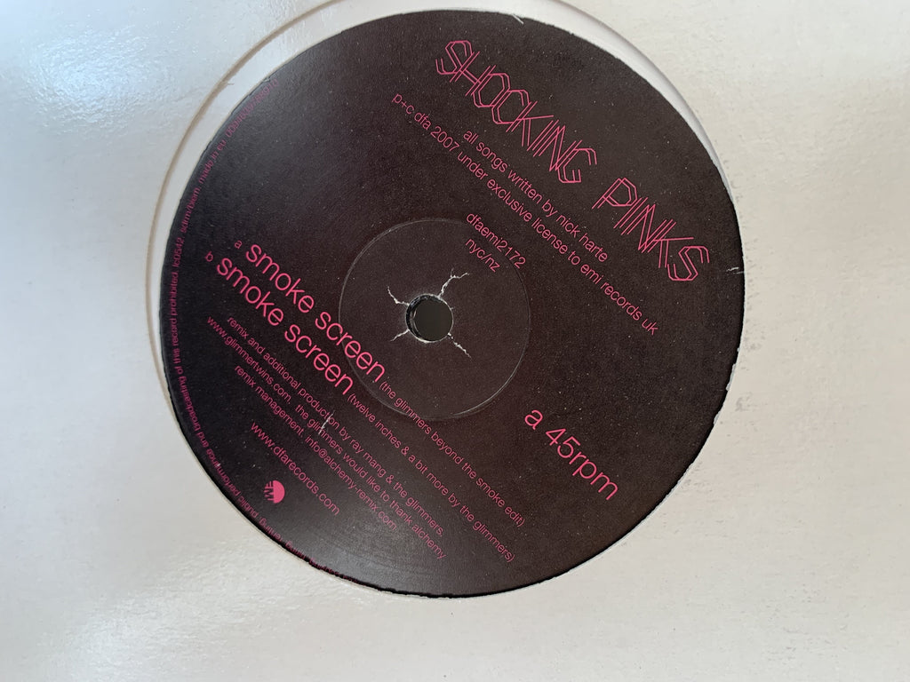 Shocking Pinks - Smoke Screen The Glimmers Remixes 12""