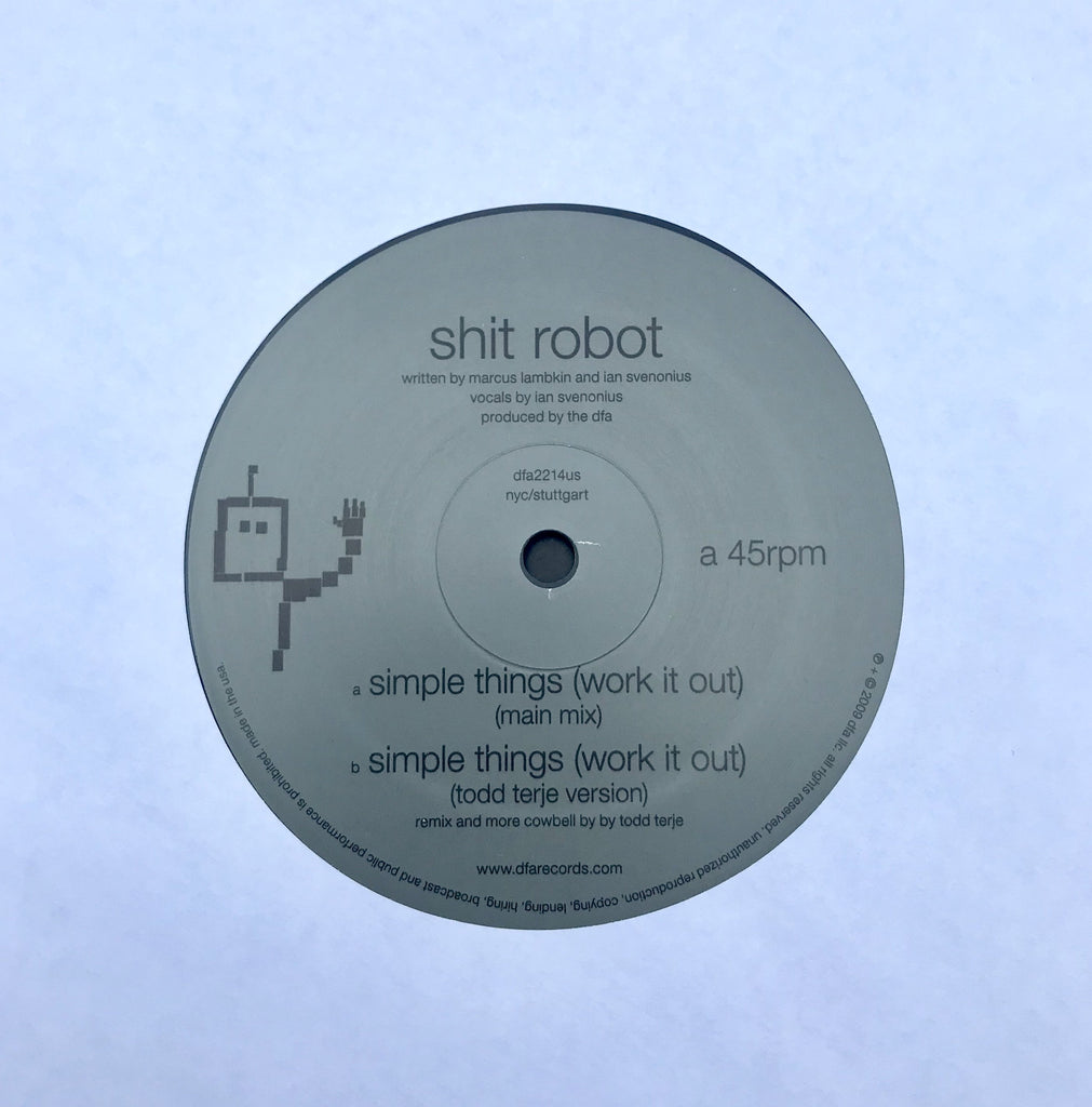 Shit Robot - Simple Things (Work It Out) - Todd Terje Version