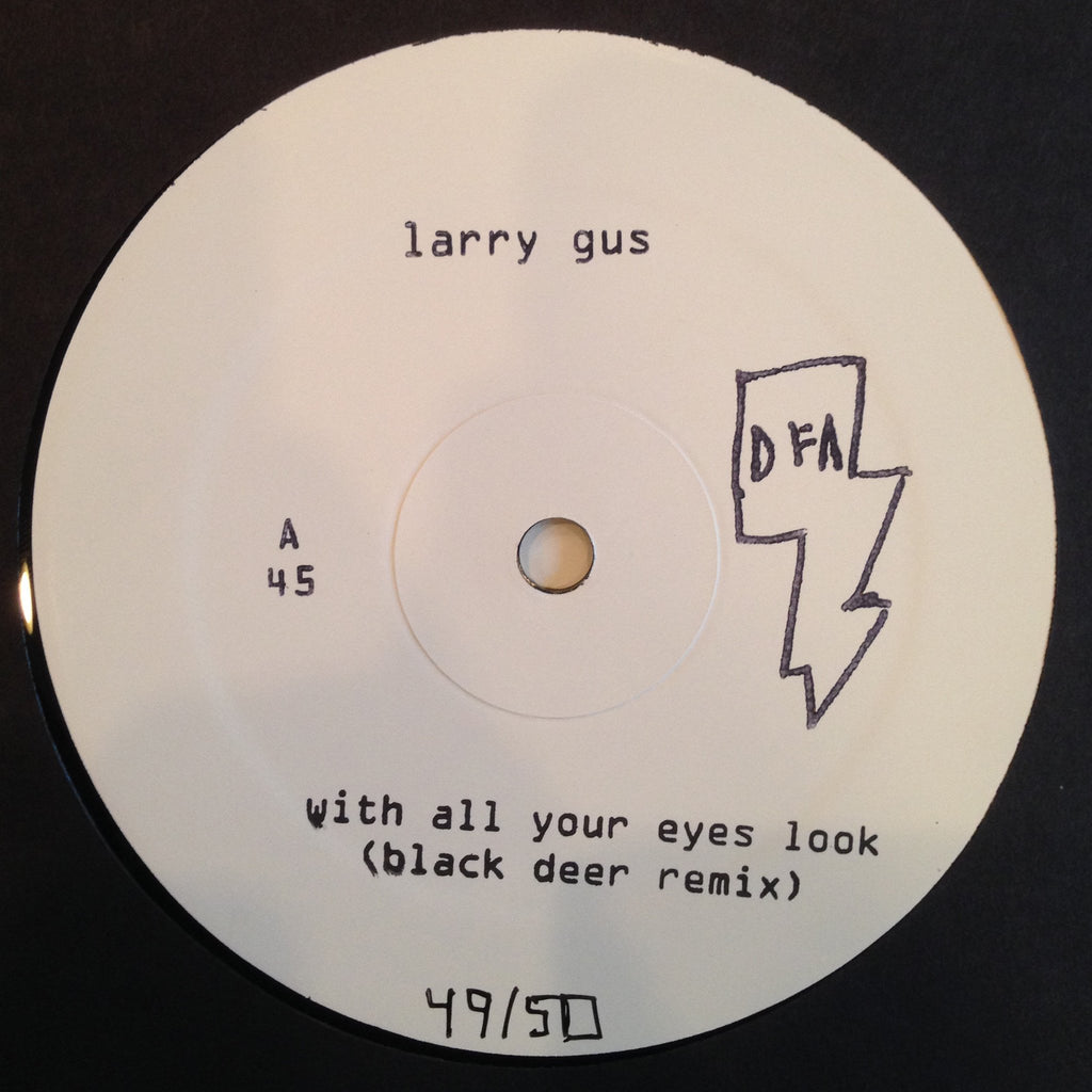 Larry Gus - With All Your Eyes Look (Remixes) 12""