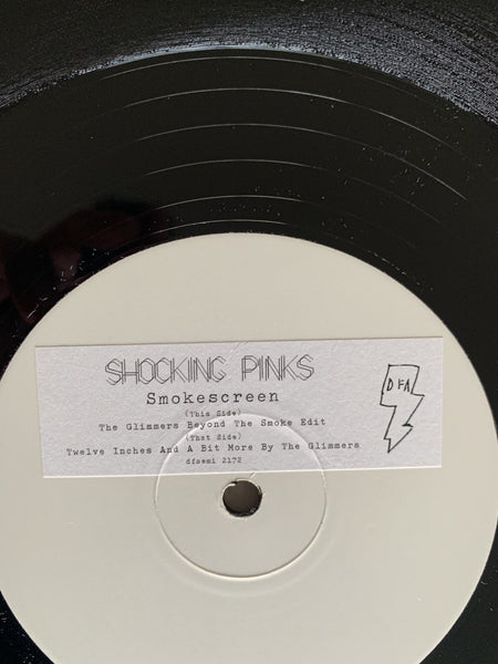 "Shocking Pinks - Smoke Screen The Glimmers Remixes (White Label 12"")"
