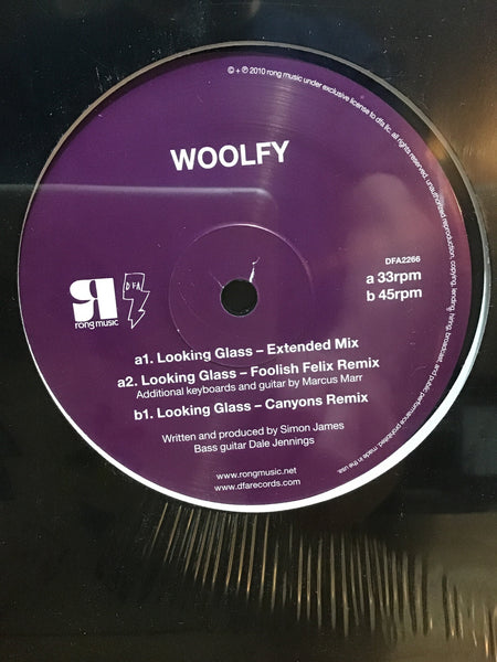 Woolfy - Looking Glass 12""