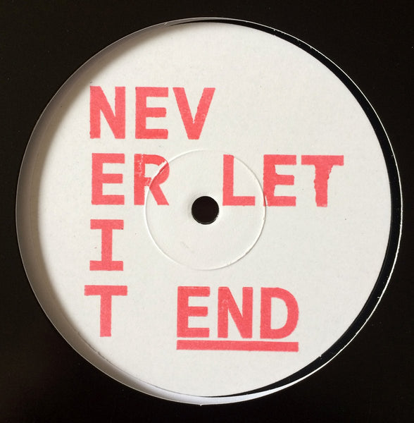 "Museum Of Love - Never Let It End (White Label 12"")"
