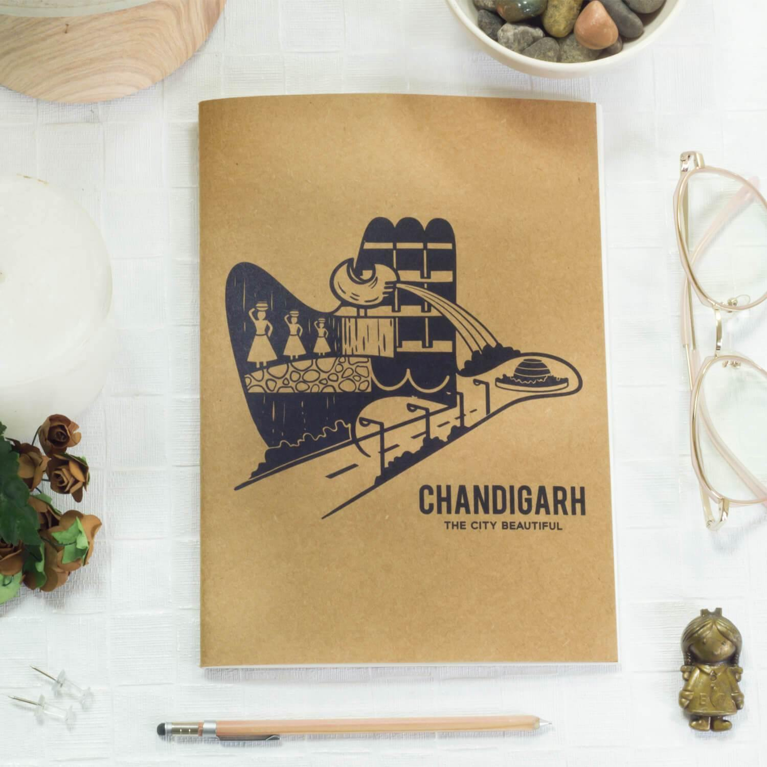Open Hand Notebook - Raahi