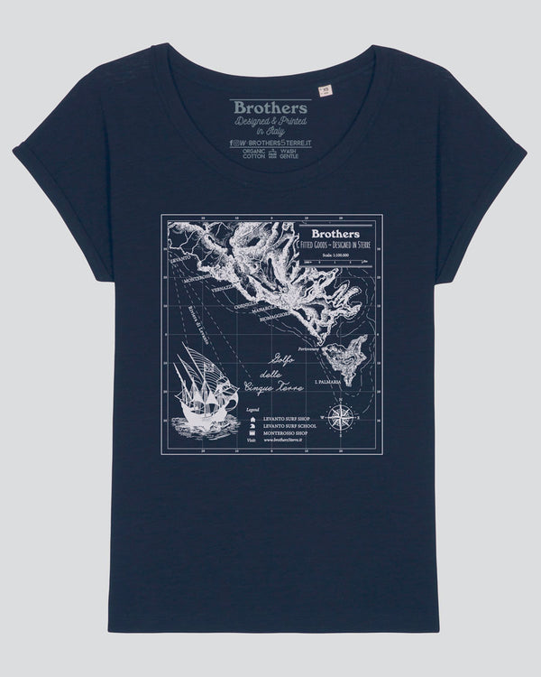 MAP BROTHERS WOMEN TEE