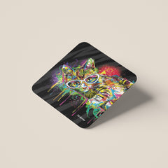 Theo the Cat Coasters