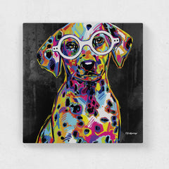 Fabian the Dalmatian Canvas Print