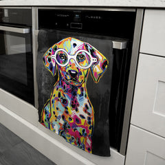 Fabian the Dalmatian Tea Towel