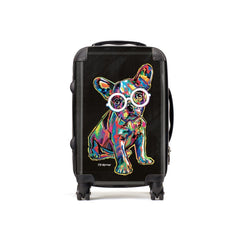 Hollie the French Bulldog Suitcases