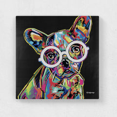 Hollie the French Bulldog Canvas Print