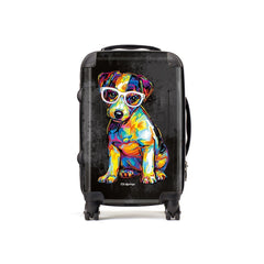 Floyd the Jack Russell Suitcases
