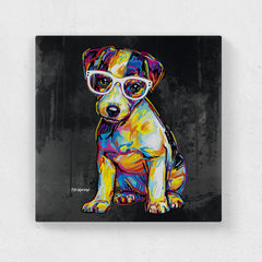 Floyd the Jack Russell Canvas Print