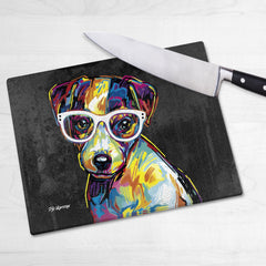 Floyd the Jack Russell Chopping Boards