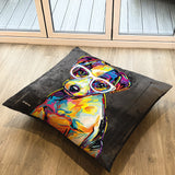Floyd the Jack Russell Cushion