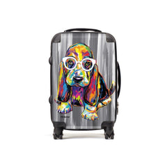 Joshua the Basset Hound Suitcases