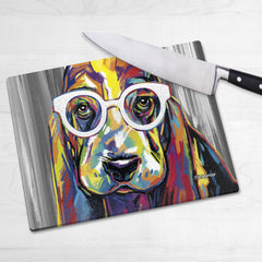 Joshua the Basset Hound Chopping Boards