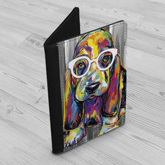 Joshua the Basset Hound Passport Holder