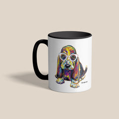Joshua the Basset Hound Mug