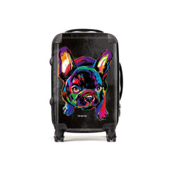 Deidra the French Bulldog Suitcases