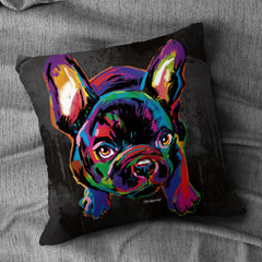 Deidra the French Bulldog Cushion