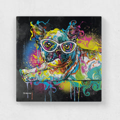Max the French Bulldog Canvas Print