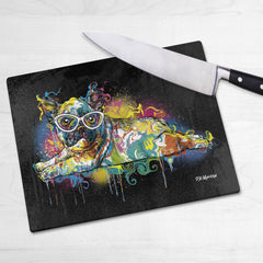Max the French Bulldog Chopping Boards