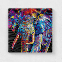 Dewey the Elephant Canvas Print