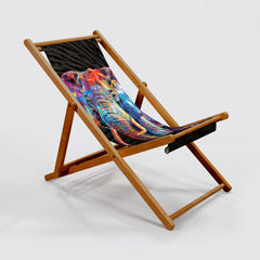 Dewey the Elephant Deck Chair