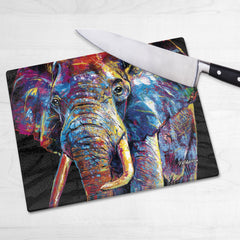 Dewey the Elephant Chopping Boards