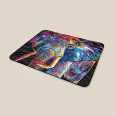 Dewey the Elephant Mouse Mat