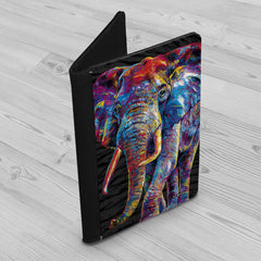 Dewey the Elephant Passport Holder