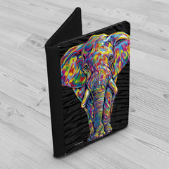 Paige the Elephant Passport Holder
