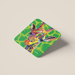 Sebastian the Giraffe Coasters