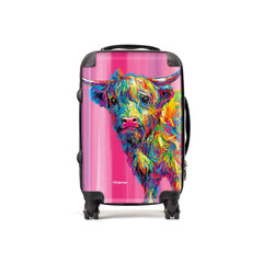Reuben the Highland Cow Suitcases