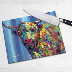 Reuben the Highland Cow Chopping Boards
