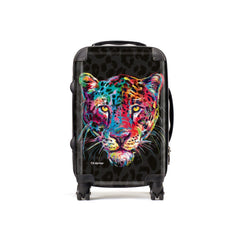 Adrian the Leopard Suitcases