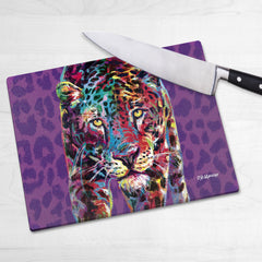 Chloe the Leopard Chopping Boards