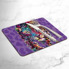 Chloe the Leopard Placemats