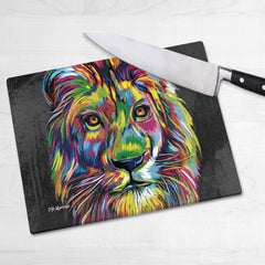 Elliot the Lion Chopping Boards