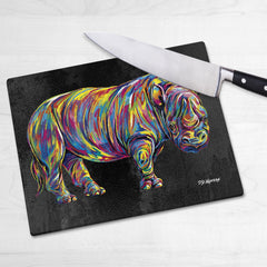 Marsha the Rhino Chopping Boards