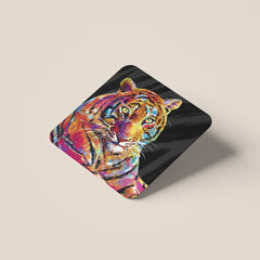 Pheobe the Tiger Coasters