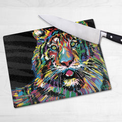 Julia the Tiger Chopping Boards