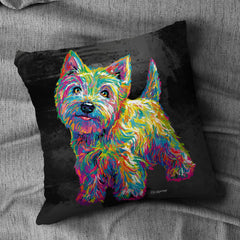 Marvin the Westie Cushion