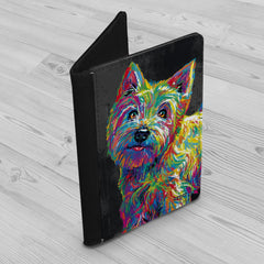 Marvin the Westie Passport Holder