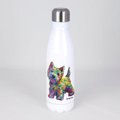 Marvin the Westie Stainless Steel Water Bottle