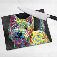 Marvin the Westie Chopping Boards