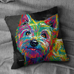 Roland the Westie Cushion